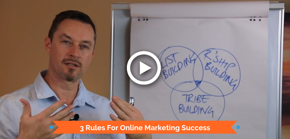3 Rules For Online Marketing Success