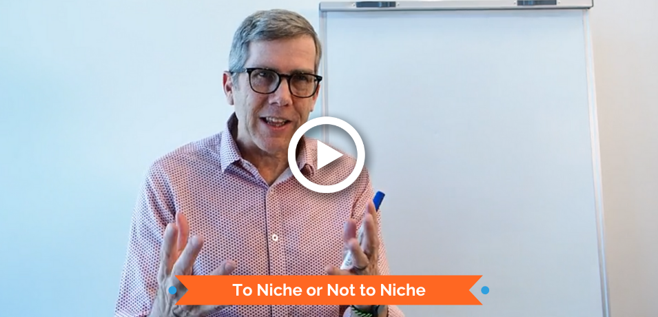 To Niche or Not to Niche...that is the question